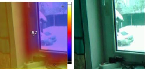 видимый и инфракрасный спектр