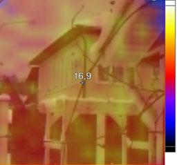 теплограмм дом снаружи